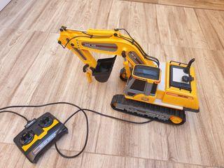 Excavadora juguete