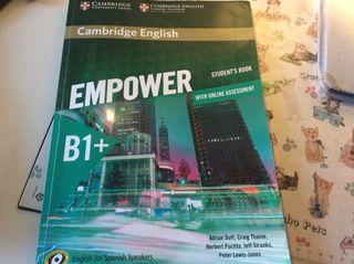 Libro inglés EMPOWER B1+/B2.1