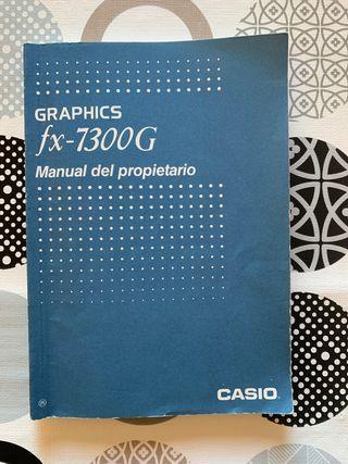 manual calculadora casio fx 7300g