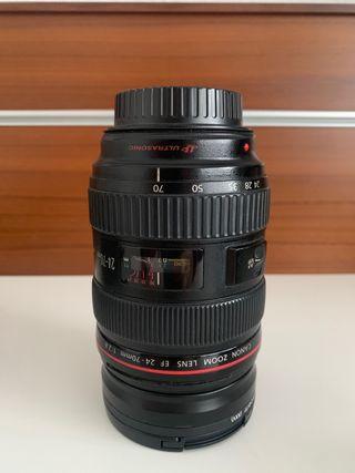Objetivo Canon 24-70mm f2,8 Serie L USM I