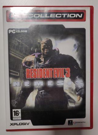 Resident Evil 3 Némesis.