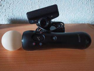 Mando Move ps3 / ps4 + cámara