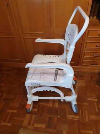 silla de ruedas de aseo Etac