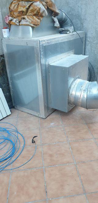 estractor de aire acondicionado
