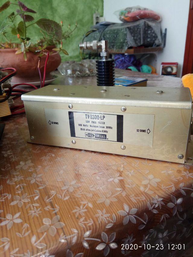 Radioaficionado filtro