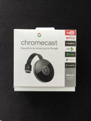 chromecast. dispositivo de streaming de google
