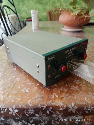 Radioaficionados manipulador de morse