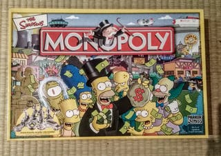 Monopoly The Simpsons.