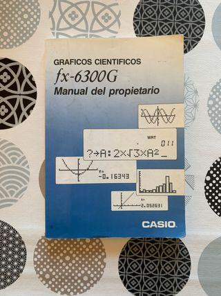manual casio fx 6300g