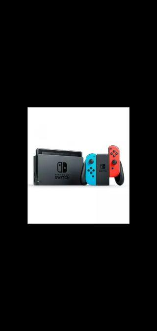 Nintendo Switch + N.S. Mario Bros + mando
