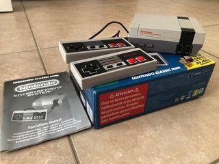 Nintendo Classic Mini Nes con 30 juegos instalados