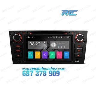 "RADIO GPS ANDROID 8.1 7"" BMW E90/91/92/93 USB GPS"