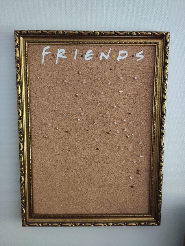 Tablero corcho FRIENDS