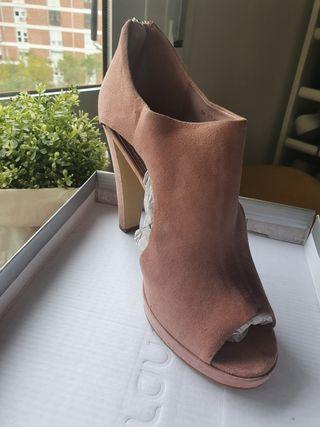 Zapatos rosas de fiesta/boda