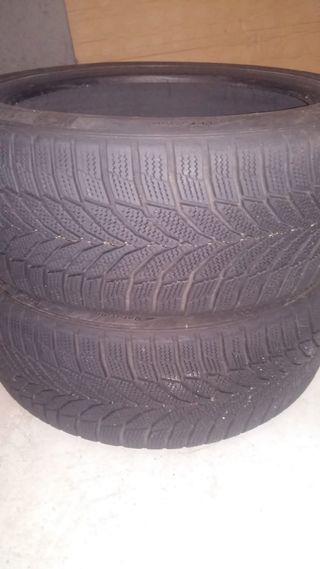 ruedas de invierno..