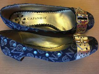 Zapato vaquero Cafenoir