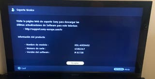 Tv Sony led 40