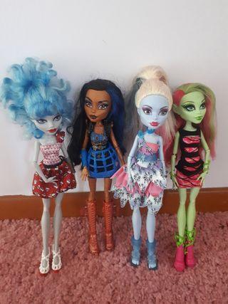 Muñecas Monster High.