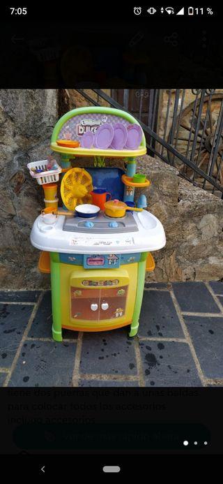 cocinita de juguete para niños
