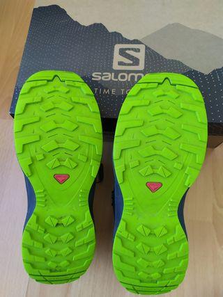 Botas Salomon talla 36
