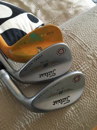 Golf wedges gap sand y lob. Titleist cleveland