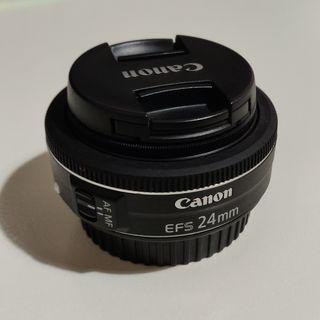 Objetivo Canon Pancake EF-S 24mm f/2.8 STM