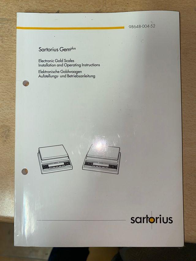 Balanza precisión Sartorius 1200