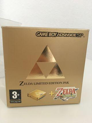 Game boy advance sp Zelda. Nintendo. Como nueva