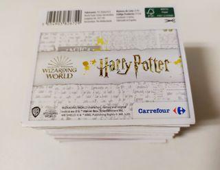 50 sobres Harry Potter Carrefour