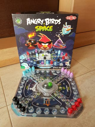 JUEGO PARCHIS ANGRY BIRDS