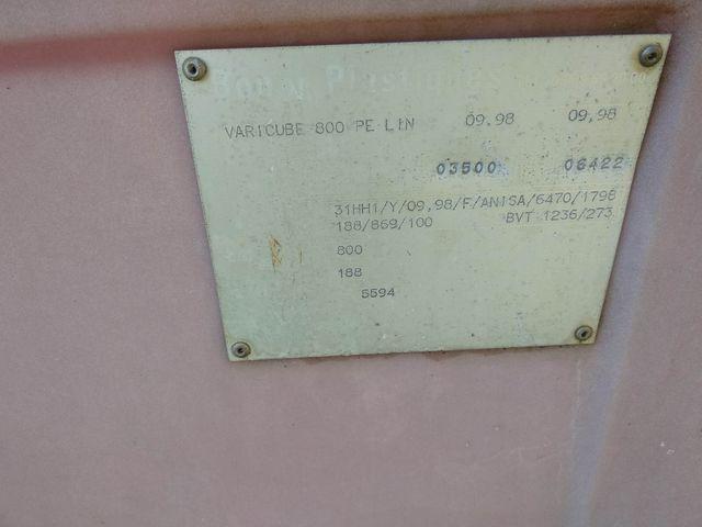 Depósitos de agua 800 litros