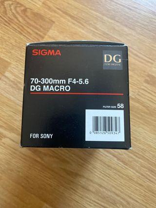 Sigma 70-300mm para Sony