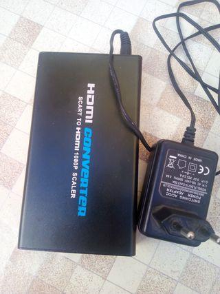convertidor euroconector a HDMI 1080p