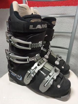 Botas esquí mujer-junior Lange 70 talla 37,5