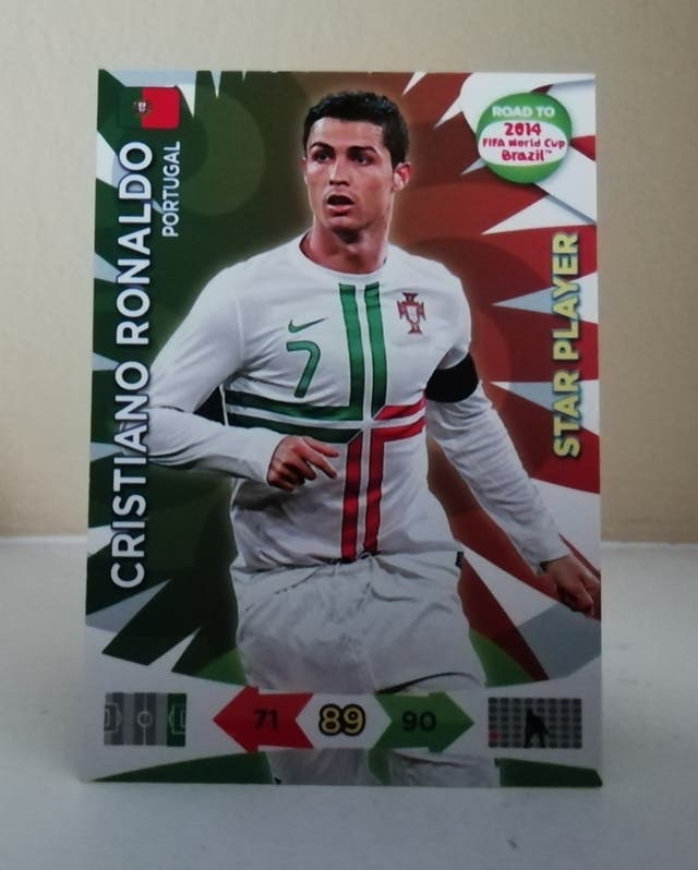 CRISTIANO STAR PLAYER ADRENALYN XL BRASIL 2014