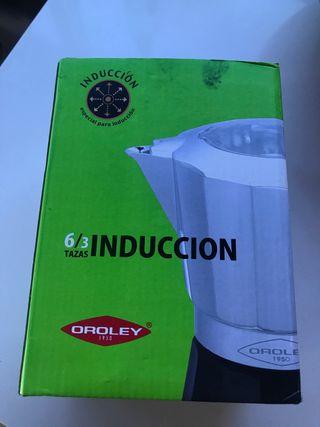 Cafetera induccion nueva. OROLEY