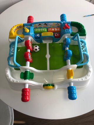 Juguetes. Mi primer futbolin.
