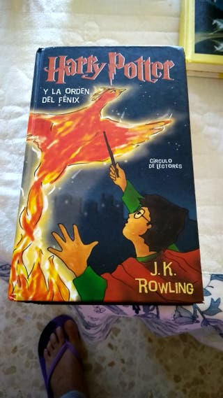 Libro 'La orden del fénix' Harry Potter