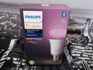 Bombilla inteligente Philips UE E27 Color