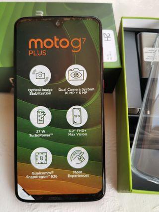 Motorola G7 Plus Rojo
