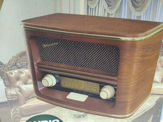 RADIO DE MADERA RETRO A CORRIENTE
