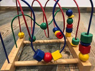 Juguete madera - para desarrollar habilidades