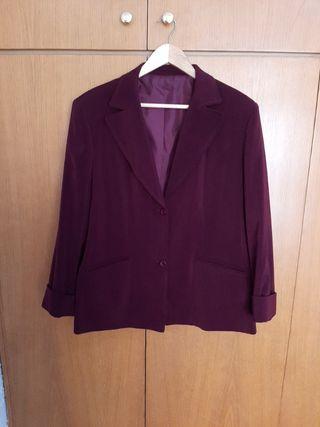 blazer vintage color vino