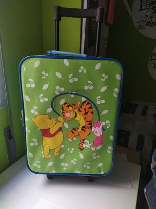 Maleta Trolley Viaje Ruedas Niños Disney Winnie