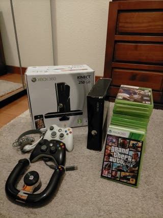 XBOX 360 Slim Kinect Edition