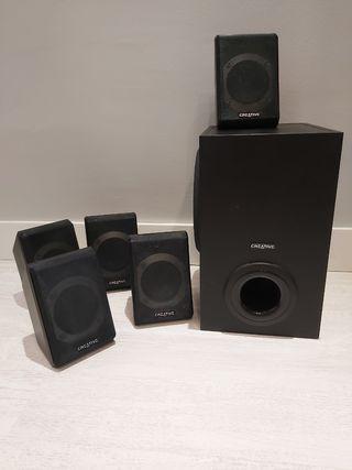 Sistema de sonido 5.1 Creative P580