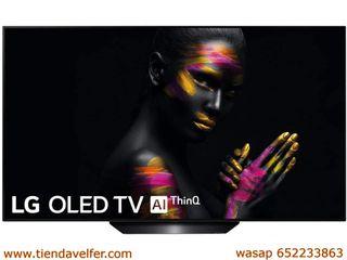 LG OLED55B9ALEXA - Smart TV OLED 4K UHD de 139 cm