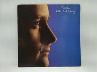 LP PHIL COLLINS HELLO, I MUST BE GOING!