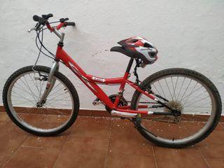 Bicicleta infantil cadete 22 pulgadas y marchas