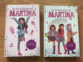 Libros La diversión de Martina 1 y 2 nuevos
